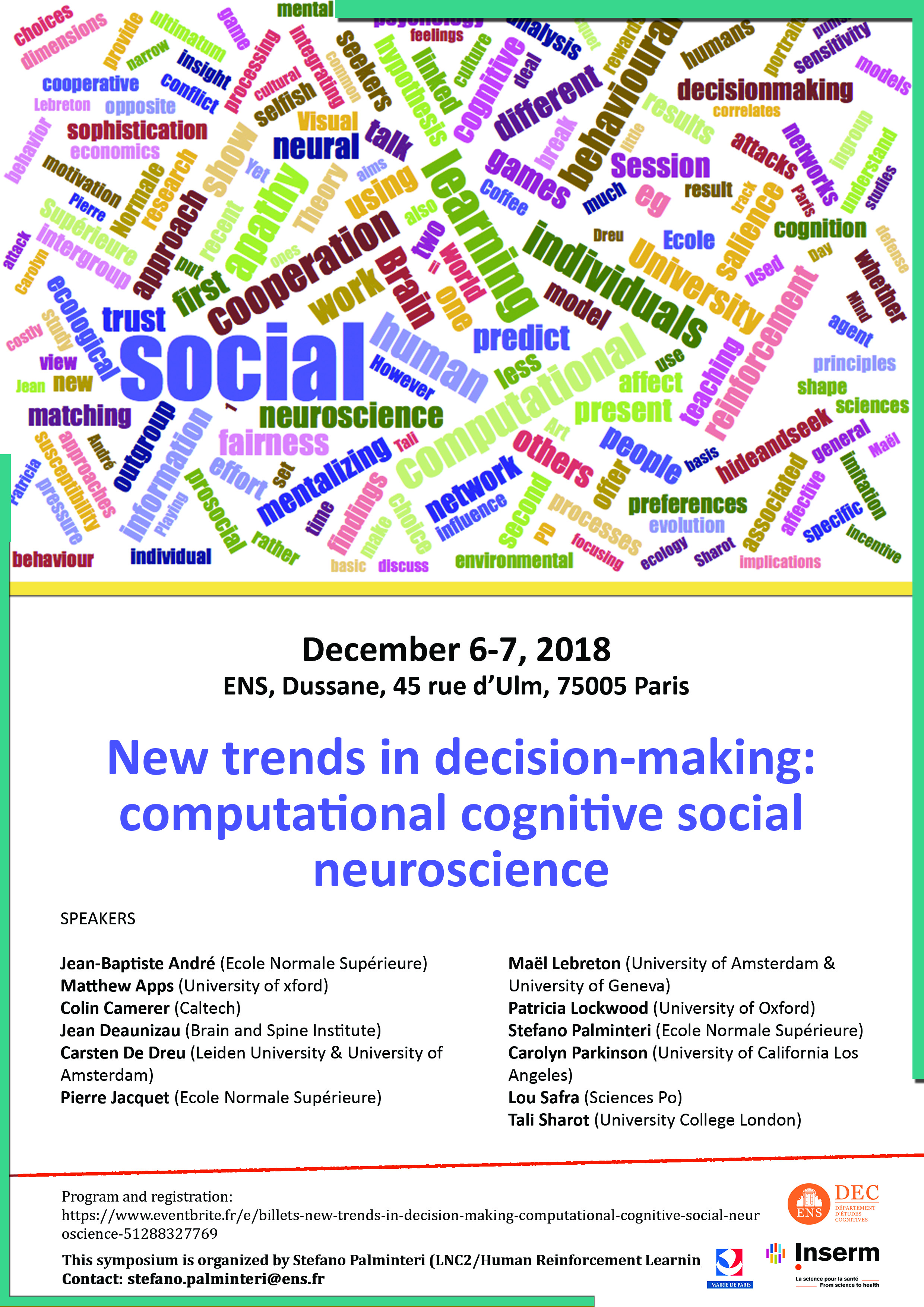 New trends in decision-making: computational cognitive social neuroscience